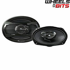 "Pioneer TS-A6933I 6x9"" inch 3 way Car speakers Rear Shelf 840 Watts 120RMS Set"
