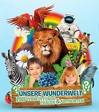 """Rewe Sticker """"Unsere Wunderwelt"""" Panini 30 Sticker aussuchen"""