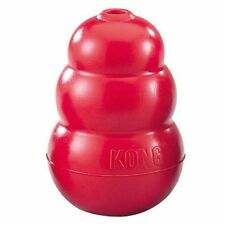 KONG Toy Dog classique, Medium, Rouge Chien Chew Toy Fetch Puppy Treat