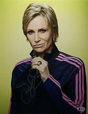 Jane Lynch Signed 11x14 Photo *The Tonight Show *Comedian Beckett BAS Q14128