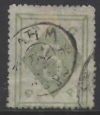 CHINA WEI HAI WEI 1899 5c olive-green, VF used, Chan #LWH4 (SG#4)