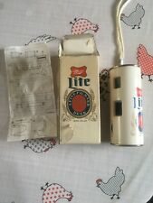 Miller Lite Can 110 Camera Novelty Camera - Boxed with instructions