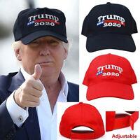 2020 Trump chapeau de baseball brodé casquette femmes hommes mode casquette de