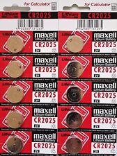 Maxell MARKENBATTERIEN 3 Volt Lithium Button Cells ( CR 2025 1 X )