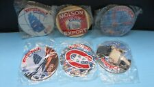 SEALED SET OF 6 NHL MOLSON COASTERS BELL CENTRE MOLSON OPENING FORUM CLOSING