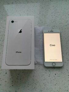 Boxed Apple iPhone 8 - 256GB - Silver (Unlocked) Near unmarked condition