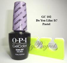 OPI GelColor Do You Lilac It Pastel GC 102 Soak Off LED/UV Gel Polish 5oz +bonus