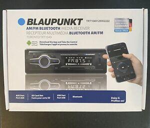 Blaupunkt Toronto AM/FM Media Receiver - Bluetooth, Easy Installation, Remote Co