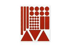 3M™ Stickerset 36teilig Aufkleber Sticker RA2 reflektierend rot selbstklebend