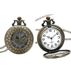 Celestial Zodiac Symbols Quartz Pocket/Fob Watch Steampunk/Victorian/Wedding/Got