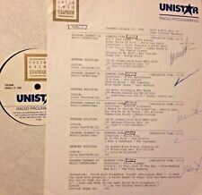 RADIO SHOW:HALL OF FAME 1/15/91 JERRY LEE LEWIS,BUDDY HOLLY,ROY ORBISON,COASTERS