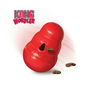 Brand New KONG-Wobbler Interactive Treat Dispensing Dog Toy, Dishwasher Safe