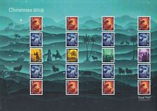 GB 2019 - Christmas Smilers Generic Sheet. Cat Ref: GS120 / LS118