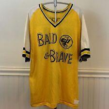 UAW Local 651 Flint MI 'Bald & Brave' Sports Team Vintage 70s XL Jersey T-Shirt