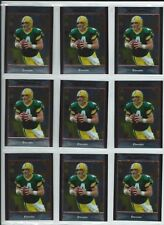 2007 Bowman Chrome Brett Favre card # bc116 lot of 9