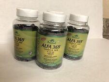 ALFA VITAMINS 369 OMEGA 3 6 9 .FLAX OIL 1000MG .4 X 100 SOFTGELS NEW
