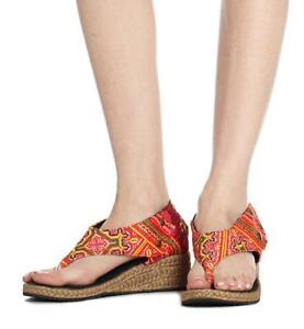 Abbie Sandal in Pink by Siamese Dream Handmade in Thailand Size 10