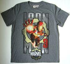 Men's MARVEL IRON MAN T shirt size large L