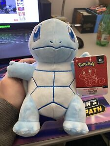 "2020 Pokémon Select - Shiny Squirtle (8"" Plush NEW w/ tag)"