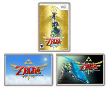 ZELDA SKYWARD SWORD WII SET 3 FRIDGE MAGNET IMANES NEVERA