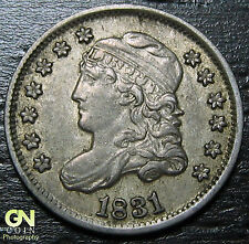 1831 Capped Bust Half Dime R3 LM2  --  MAKE US AN OFFER!  #O5700