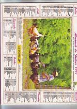 almanach - calendrier année 1997