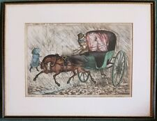 WILLIAM HEATH (1794-1840) 'HEATH-CABRIO, LET OR SHELTER VERSUS PELTER. 1829.