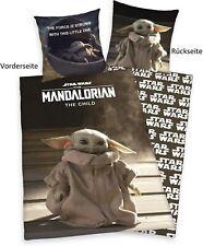 Star Wars Bettwäsche Set The Mandalorian 2 tlg. 140 x 200 cm 70 x 90 cm