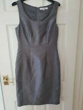 LK BENNETT Dress Size 10 Shift Grey Work Occasion Business Party