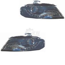 Xenon Set Fanali per Audi A4 B8 8K 07-11 Limousine Avant con Curve Luce D3S + H7