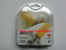 Nokya Stage 1 Hyper Yellow H7 Twin Pack Part # NOK7616 NEW!