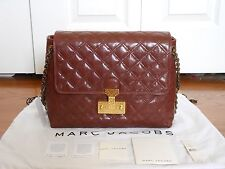 NWT Marc Jacobs $1050 Extra Large Baroque Single Quilted Shoulder Bag Handbag
