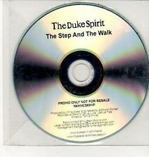 (DD57) The Duke Spirit, The Step and the Walk - DJ CD