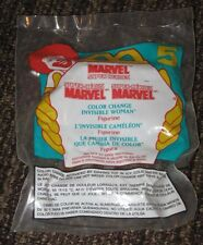 1996 McDonalds Happy Meal Toy - Color Change Invisible Woman #5 - Marvel