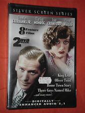 DVD FILM- 8 FEATURE FILMS-CON: MARYLIN MONROE E JOAN CRAWFORD-contiene 2 dvd