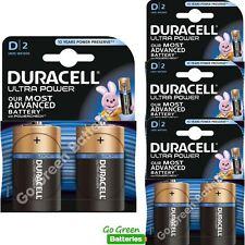 8 x Duracell D Size Ultra Power Alkaline Batteries Duralock (LR20, MN1300, Mono)