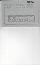 Saba Original Bedienungsanleitung user manual für ULTRA  professional 9241 digit