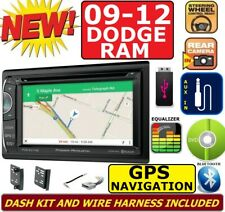 2009 - 2012 DODGE RAM GPS NAVIGATION SYSTEM USB BLUETOOTH CD/DVD CAR RADIO