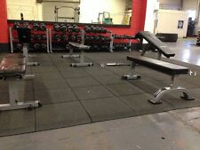 Gym Floor Tiles - 1000 x 1000mm - Gym Floor Matting