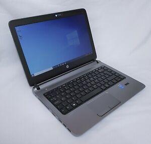 """HP 340 G2 Notebook Core i5-5200U 8GB RAM 500GB HDD 14"""" Display Windows 10 Pro"""