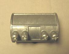 """(1) Regal 715 1-1/2"""" EMT Set Screw Conduit Coupling Slip Connector Die Cast Zinc"""