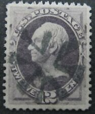 US United States Sc. Scott 151 $220 12c Fancy Cancel Very Fine Used A5867