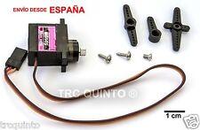 Micro servo compatible con MG90S piñones metalicos radiocontrol arduino robotica