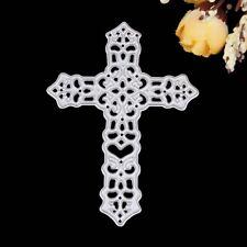 Cross Metal Cutting Dies Stencil Scrapbook Album Embossing Card Paper Craft