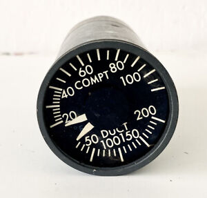 Boeing Aircraft Temperature Indicator - Weston
