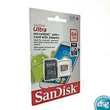 SanDisk 64GB micro SD SDXC Memory Card For Nintendo Switch Gaming Console
