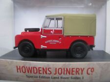 Land Rover series 1 special edition Oxford diecast model for Howdens Joinery