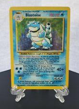 Pokemon TCG - Blastoise 2/102 Unlimited Foil Rare - Base Set - Light Play
