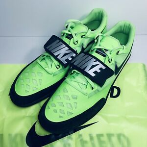 Nike Zoom SD 4 Throwing Track Field Shoes Electric Green (685135-300) SZ US 15