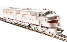 5411 Broadway Limited EMD E7 A-unit, CB&Q #9919-A, Stainless Steel w/ Red Stripe